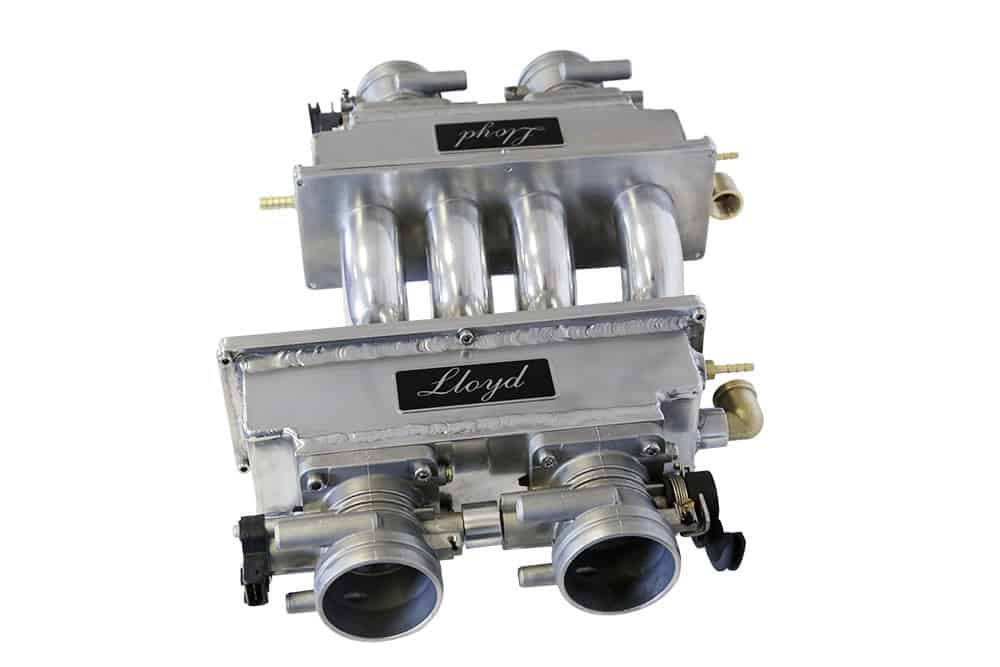 Lloyd Dual-Plane Rover V8 Fuel Injection manifold