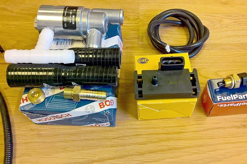Pre-Serpentine Rover V8 Kit